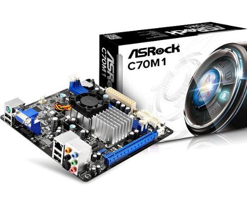 "Материнская плата ASRock C70M1 DDR3 ""Over-Stock"""