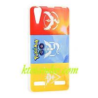 Чехол Foto Silicon iPhone 5/5S Pokemon GO