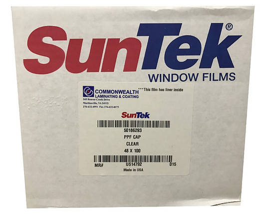 Антигравийная пленка SunTek Top Coated (США) 1,22м, фото 2