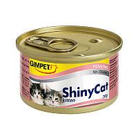 Консервы GimCat ShinyCat Kitten Chicken для котят с курицей, 70 г