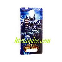 Чехол Foto Silicon iPhone 5/5S Warcraft Arthas