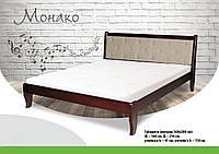 Ліжко дерев'яне букове Монако