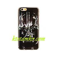 Чехол Foto Silicon iPhone 5/5S Darth Vader