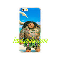 Чехол Foto Silicon iPhone 5/5S Maui