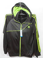 """Костюм спортивный мужской Adidas стильный с капюшоном Серии """" POWER """" размеры M-3ХL"""