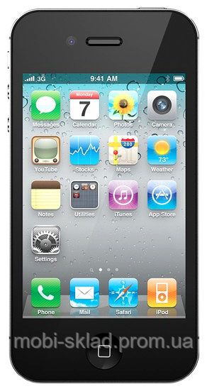 Китайский cмартфон iPhone 4S s777, Android 4, GPS, Wi-Fi, 1 сим.