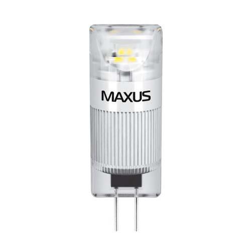 Лампа MAXUS G4 1W 3000K 12V AC/DC CR