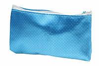 Косметичка  в горошек тканевая