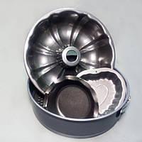 Форма для выпечки  набор 4 шт. (круг,кекс,сердце,кекс класика) (код 05752), фото 1