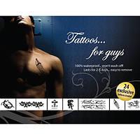 Временные татуировки для мужчин