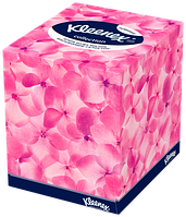 Kleenex салфетки в коробке Коллекшн Куб 100 шт.