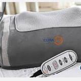 Массажная подушка Шиатсу  с пультом управления, фото 3