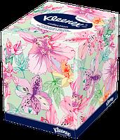 "Kleenex салфетки в коробке ""Дизайн"" 70 шт."