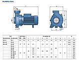 Pedrollo HFm 6B 1500 Вт, 66 м3/год, 15 м. насос відцентровий, фото 4