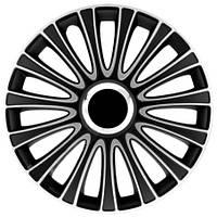 Колпак Колесный Lemans Pro (серебристо-черный) R13