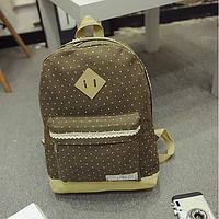 Городской рюкзак в горошек, фото 1