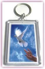 Брелок: «Ісус дає людині мир». №15, фото 2