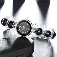 Женские часы-браслет Soxy (Black)