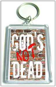 "Брелок  ""God's not dead"""
