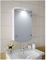 Шкаф зеркальный Garnitur.plus в ванную с подсветкой 3S