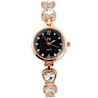 Классические женские часы JW (Black)