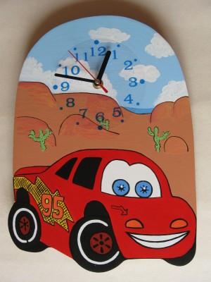 Детские настенные часы «Тачки», Funny Animals
