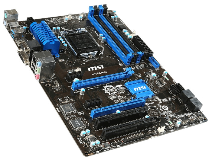 "Материнская плата MSI H97 PC MATE s.1150 DDR3 ""Over-Stock"""