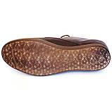Levis туфли мужские коричневого цвета в стиле Левис кожа весна лето осень, фото 5