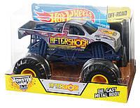 Хот Вилс Монстер Джем внедорожник джип Hot Wheels Monster Jam 1:24 Scale Aftershock