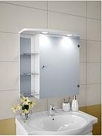 Шкаф зеркальный Garnitur.plus в ванную с LED подсветкой 5S