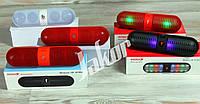 Портативная bluetooth колонка со светомузыкой