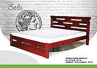 Ліжко дерев'яне бук масив Зевс