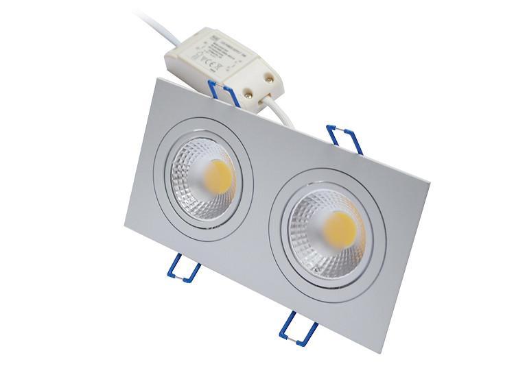Встраиваемый светодиодный светильник LED Downlight 2x5W