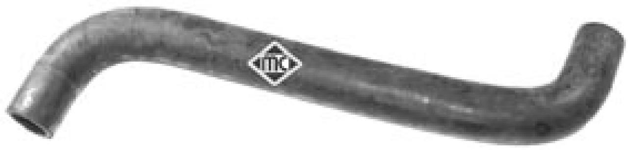Патрубок радиатора охлаждения двигателя (верх) на Renault Trafic 01-> 1.9dCi — Metalcaucho (Испания) - MC09242