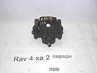Б.У. Суппорт тормозной передний левый Toyota rav4 xa2 2001-2005 Б/У