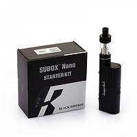 Электронная сигарета Subox nano Starter Kit Black Edition