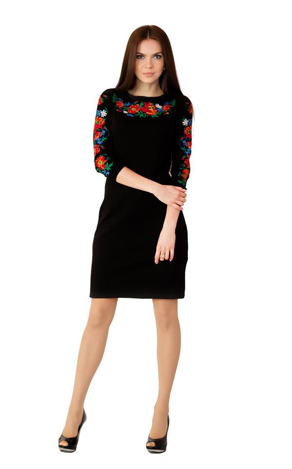 Плаття вишите М-1031 - Donna Misteriosa - мультибрендовий інтернет-магазин. Найкраще від українських виробників в Киеве