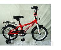 2х колесный велосипед PROFI Top Grade  L14105 от 3-х лет детский 14 дюймов красный
