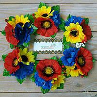 """Заколка """"Полевые цветы"""" для девочки на волосы, фото 1"""