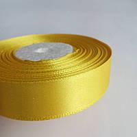 Лента атласная желтая 2см