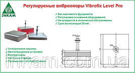 Виброопоры регулируемые Виброфикс Левер Про 28/25
