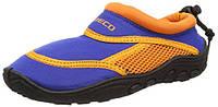 Тапочки для плавания и серфинга детские BECO синий/оранжевый 92171 63
