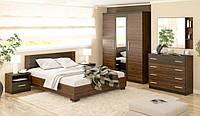Недорогой спальный гарнитур Вероника на 6 предметов. Производитель Мебель-Сервис