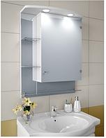 Шкаф зеркальный Garnitur.plus в ванную с подсветкой 9NS