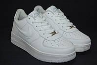 Nike air Force подростковые белые кроссовки