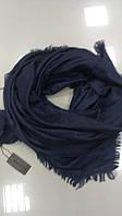 Платок кашемировый с узорами Луи Виттон (реплика),темно-синего цвета