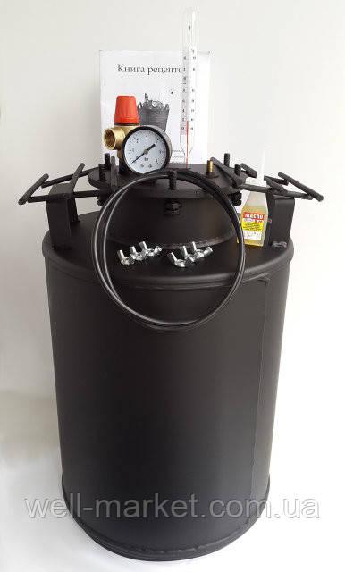 Автоклав Днепр 24/10 домашний для консервирования на 10 литровых (24 пол-литровых) банок