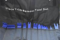Набор для снятия обшивки салона, магнитол, панелей в авто (11 шт)