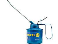 Маслянка для технічного масла 300 грамм з жорстким наконечником Vorel 78303