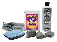Набор для очистки, полировки и ухода за хромированными элементами автомобиля